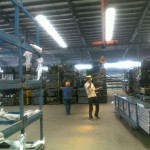 Aluminum extrusion warehouse