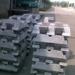 Aluminum Ingots are melted down and mixed to make the desired grade of extrusion you require